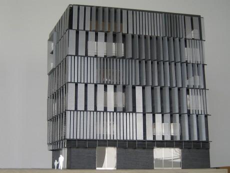 Maquette d'architecture EMGP - 01