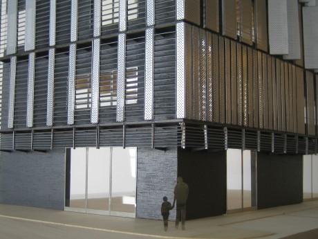 Maquette d'architecture EMGP - 03