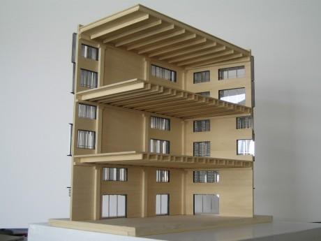 Maquette d'architecture EMGP - 04