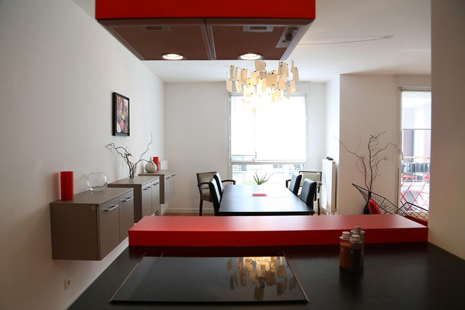 cuisine ouverte architecte intérieur Paris - 04